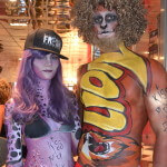 Kiss My Fairy lion bar and Freddo body paint