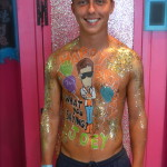 Kiss My Fairy Joey Essex body paint