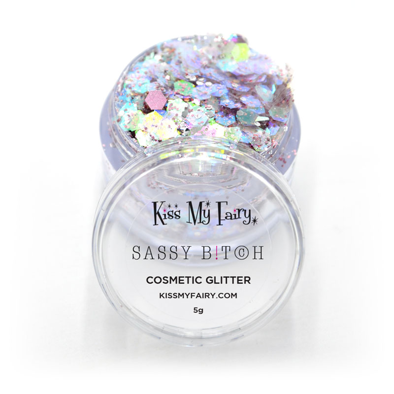 iridescent pearl cosmetic grade chunky glitter