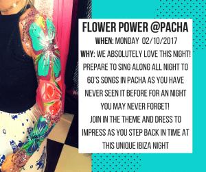 Flower Power @ Pacha