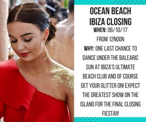Ocean Beach Ibiza Closing