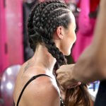 skull braids corn rows ibiza