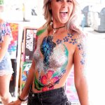 Kiss My fairy glitter snd body paint zoo project