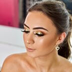 Gold cosmetic grade glitter Kiss My Fairy Ibiza