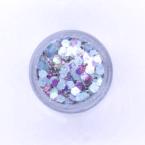 Ice blue festival glitter cosmetic grade chunky glitter Kiss My Fairy Ibiza