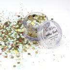 Mint green and gold cosmetic grade chunky glitter mix Kiss My Fairy Ibiza