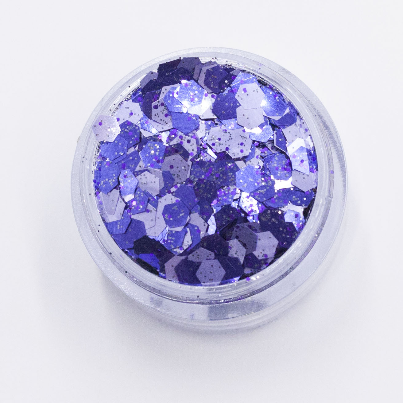 Electric purple glitter cosmetic grade chunky Kiss My Fairy Ibiza UK