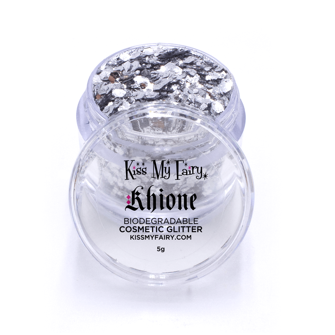 silver biodegradable glitter