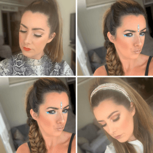 VARIOUS MAKE UP LOOKS
